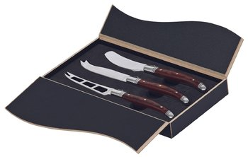 Bordeaux 3 Piece Cheese Knife Set Pobck Uniform